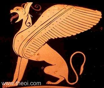 Decorative Griffin | Athenian red-figure kylix C6th B.C. | Staatliche Antikensammlungen, Munich