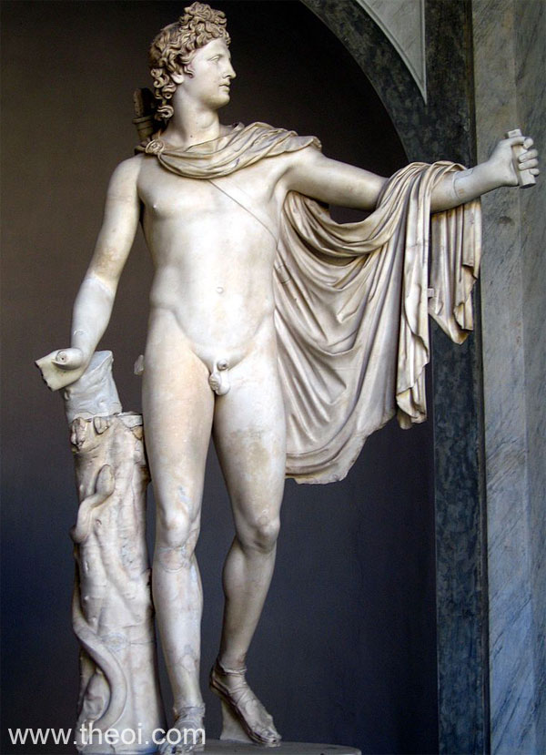 Apollo Belvedere | Greco-Roman marble statue C2nd A.D. | Pio-Clementino Museum, Vatican Museums