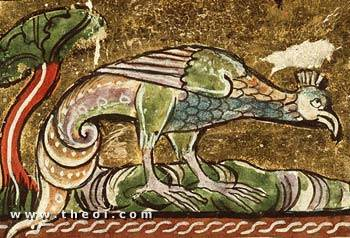 Basilisk | Der Naturen Bloeme manuscript (1350) | National Library of the Netherlands