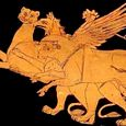 Thumbnail Dionysus, Griffin, Bull, Panther