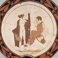 Thumbnail Apollo & Muse with Lyre