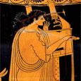 Thumbnail Apollo Playing Lyre